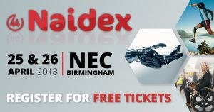 Link to Naidex registration page