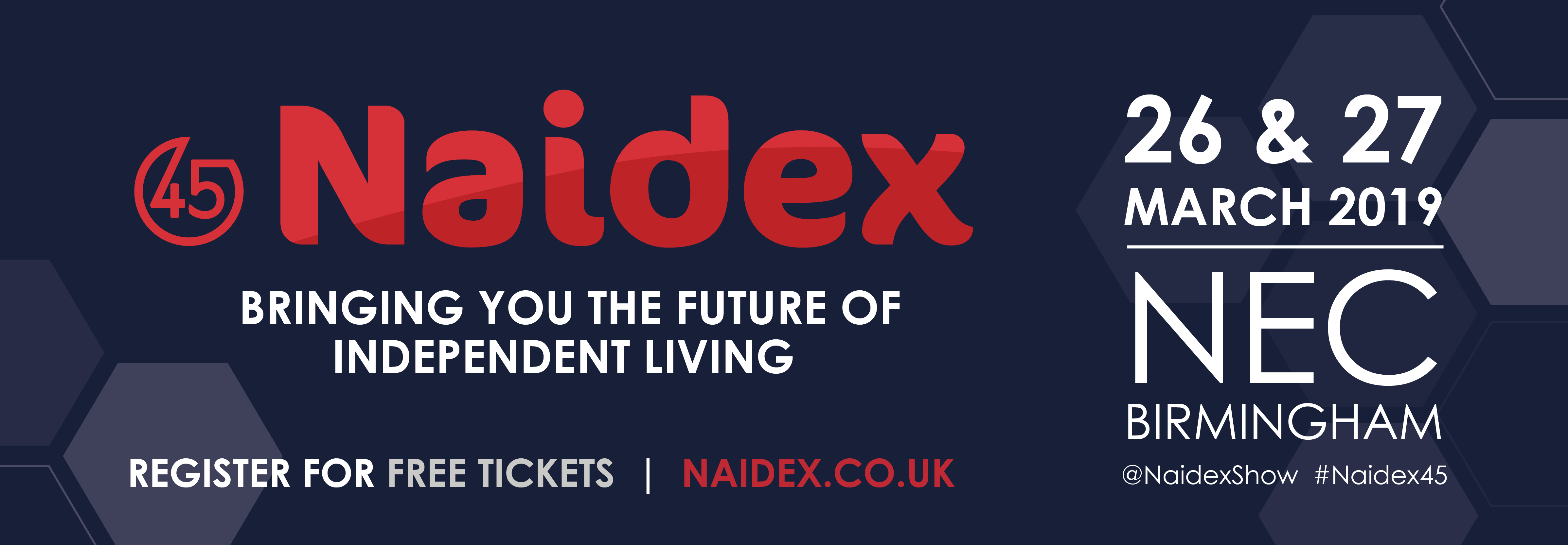 Naidex logo and link