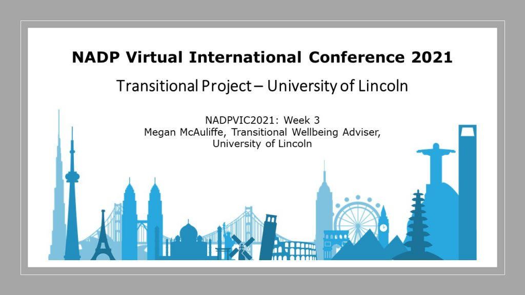 Transitional Project University of Lincoln
